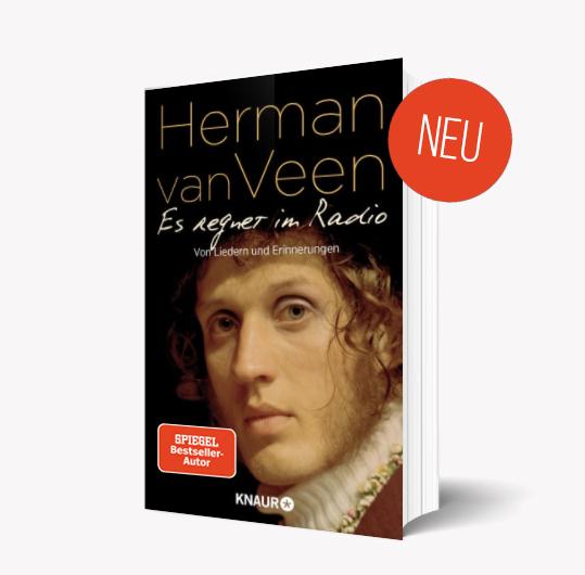 Boek Es regnet im Radio Herman van Veen