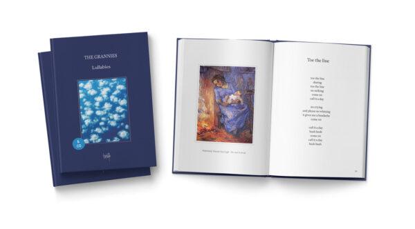 Boek met cd Lullabies van The Grannies - Binnenwerk