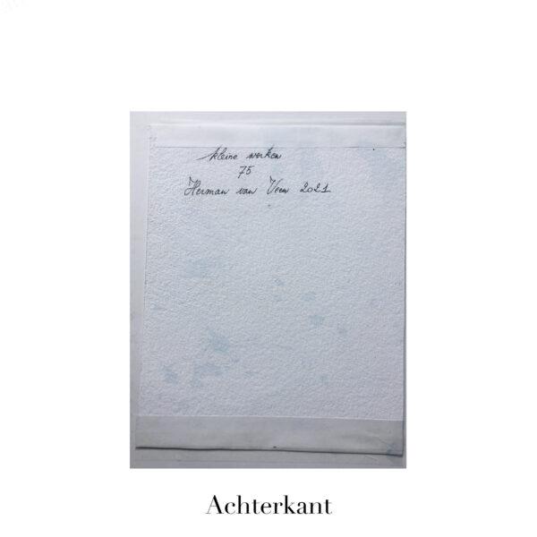 Small Painting No. 75 achterkant | Herman van Veen
