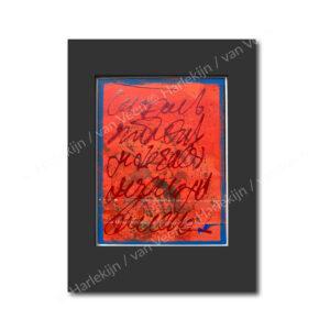 NO. 120 Nieuw klein schilderwerk Herman van Veen